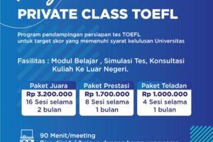 TOEFL Private Class