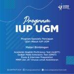 Program Bimbingan Masuk IUP UGM 2022