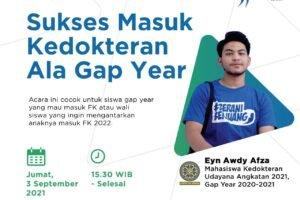 Webinar Sukses Gap Year